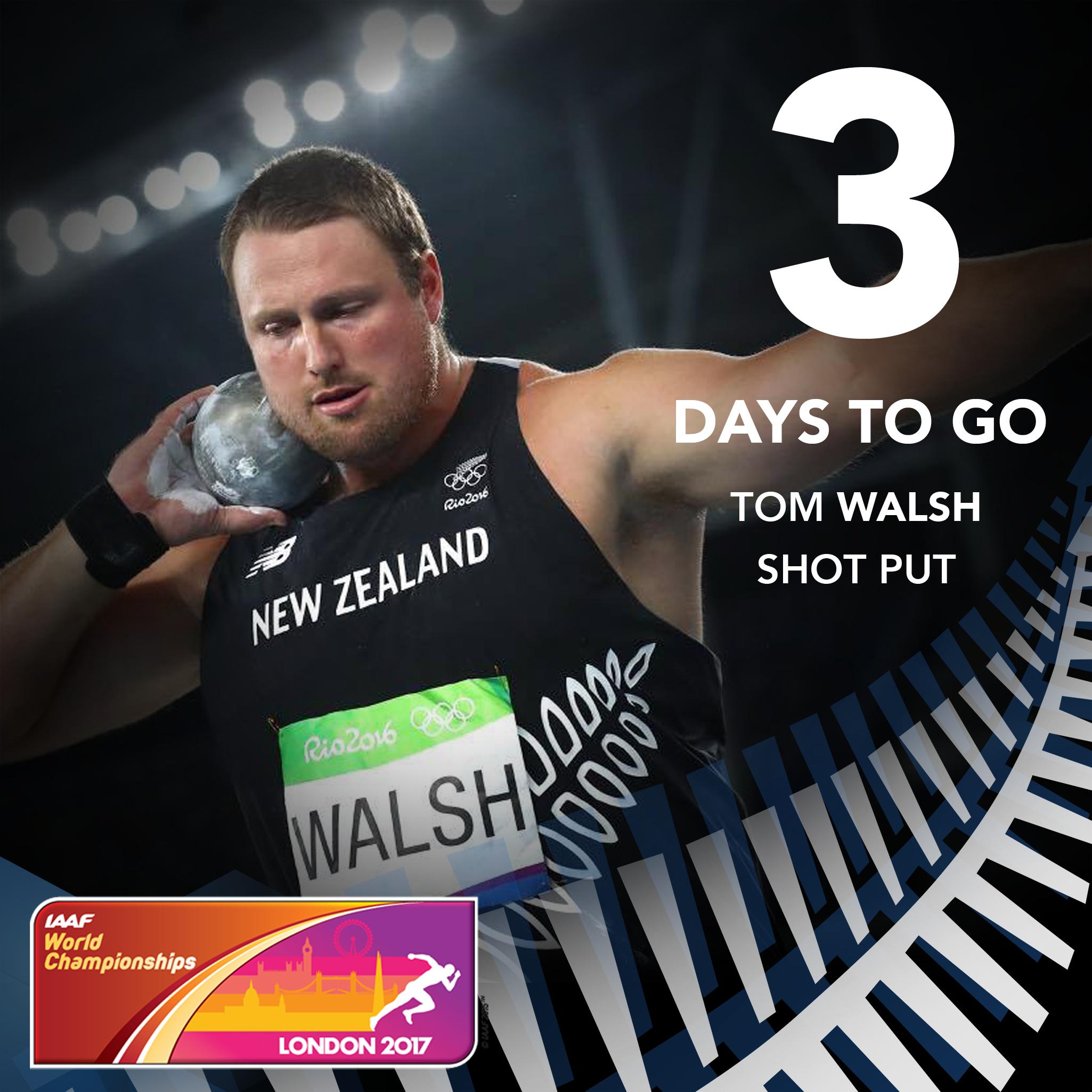 Countdown to World Championships