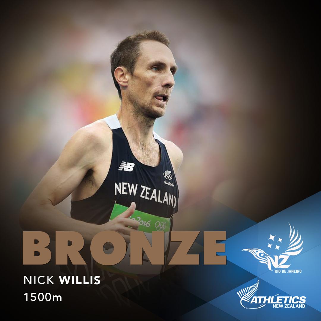 Celebrating Nick Willis' Bronze in Olympics 2016
