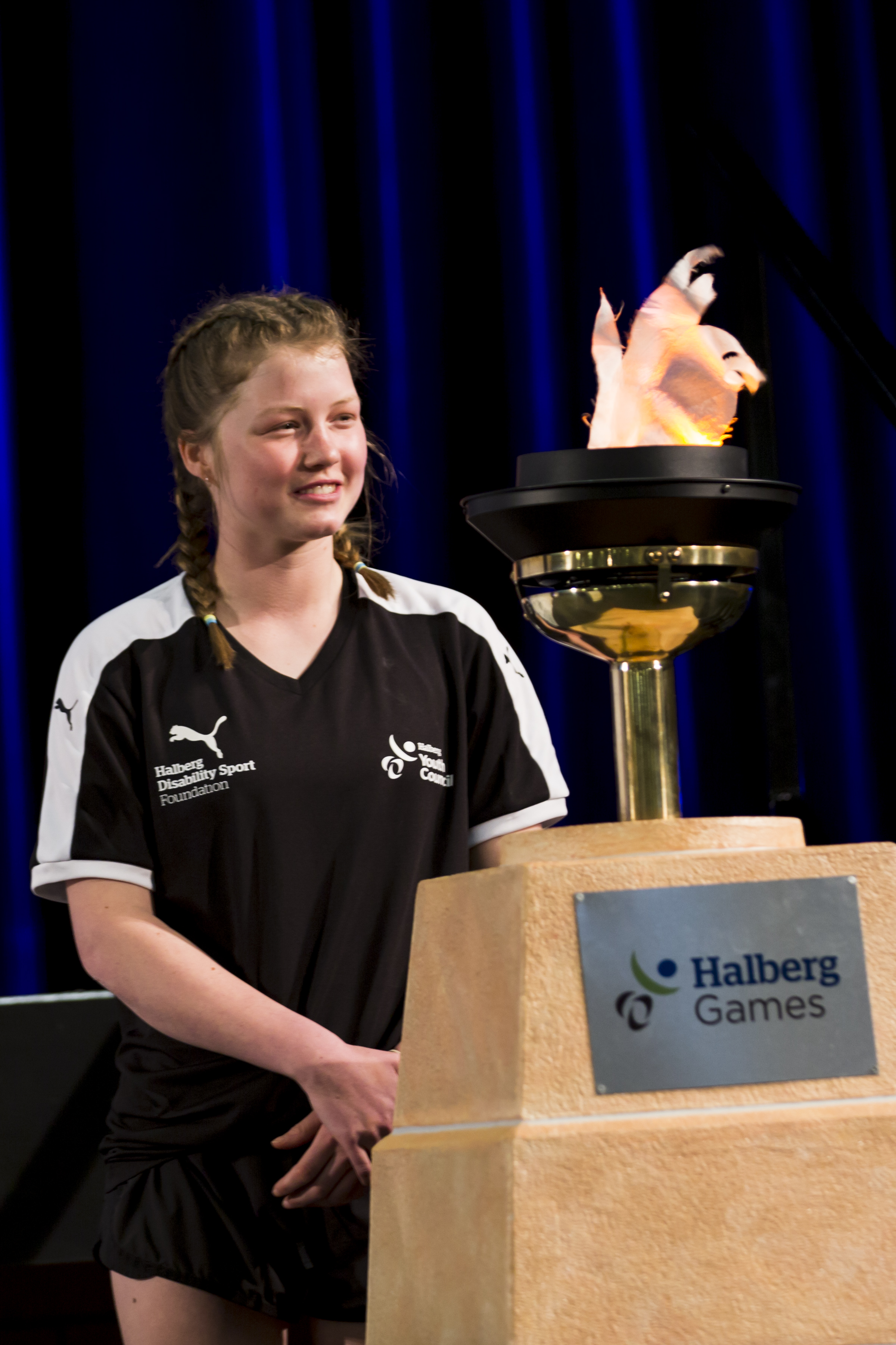 Opening Ceremony. 2018 Halberg Games 2018. Kings College, Auckland, New Zealand. Friday 5 October 2018 © Photo: Alisha Lovrich / www.photosport.co.nz. Copyright photo: Alisha Lovrich / www.photosport.nz