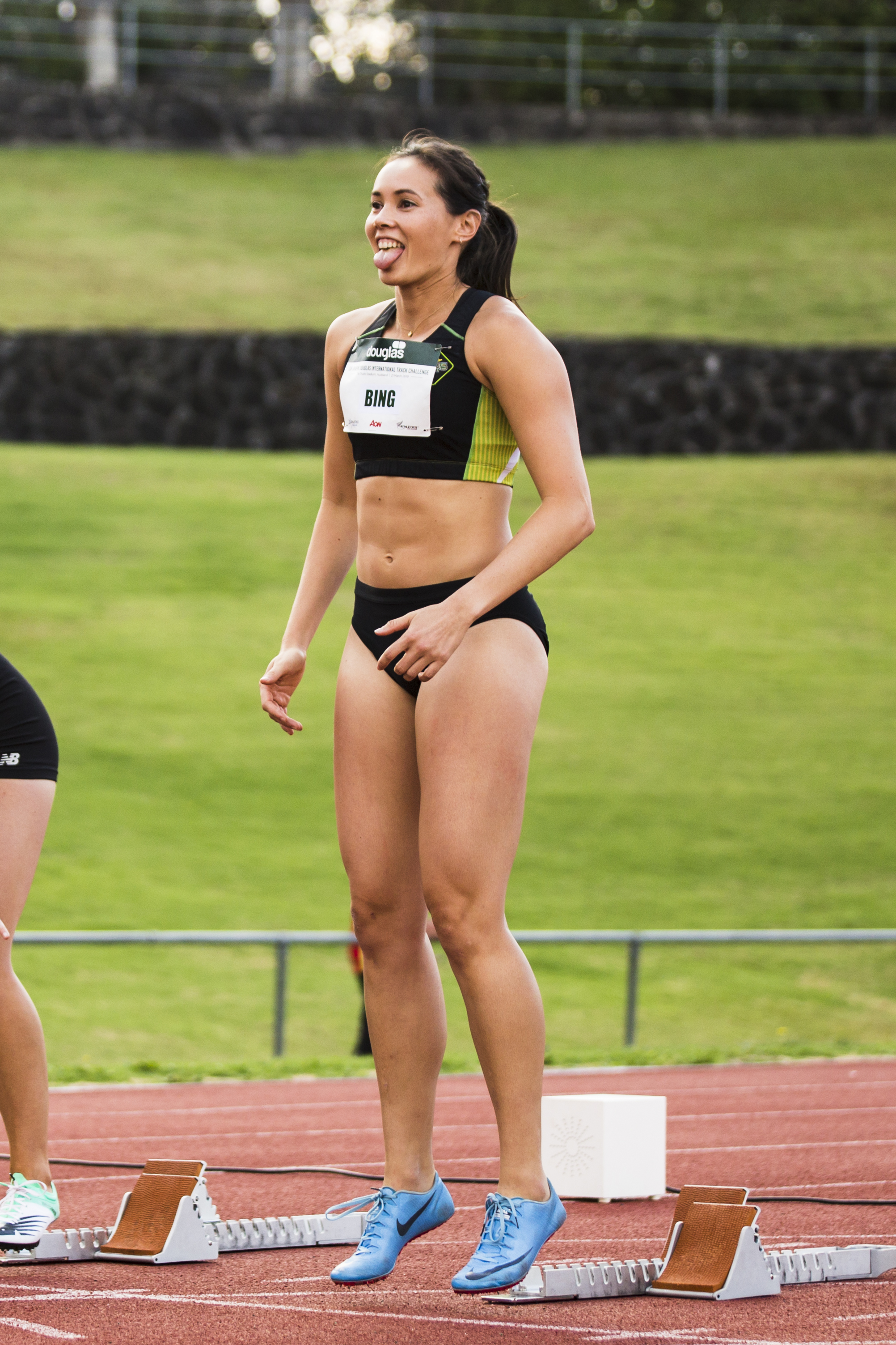 Portia Bing at the Sir Graeme Douglas International Track Challenge. 21 March 2019. Auckland, New Zealand. Copyright photo: Alisha Lovrich / www.photosport.nz
