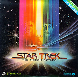Star Trek Laserdisc