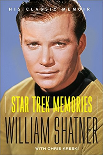 Star Trek Memories Book (Audio Format read by William Shatner)