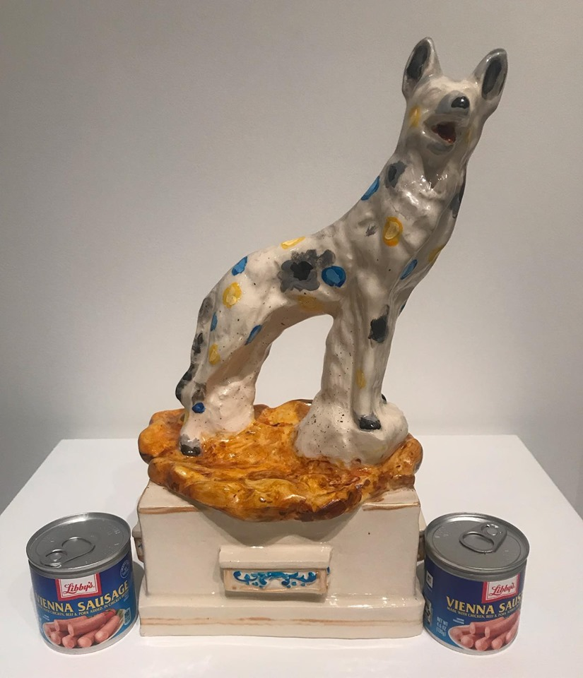 Hoki Wolf the Toughest Rez Dog in Winnebago, 2019