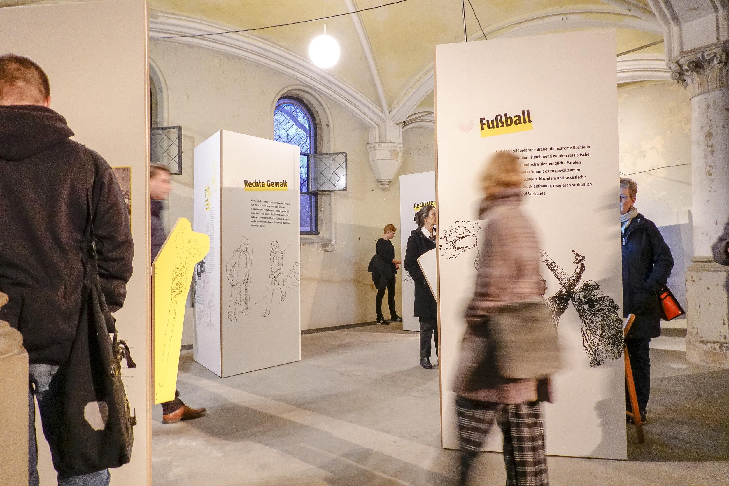Extreme Rechte und Gegenwehr in Berlin seit 1945
