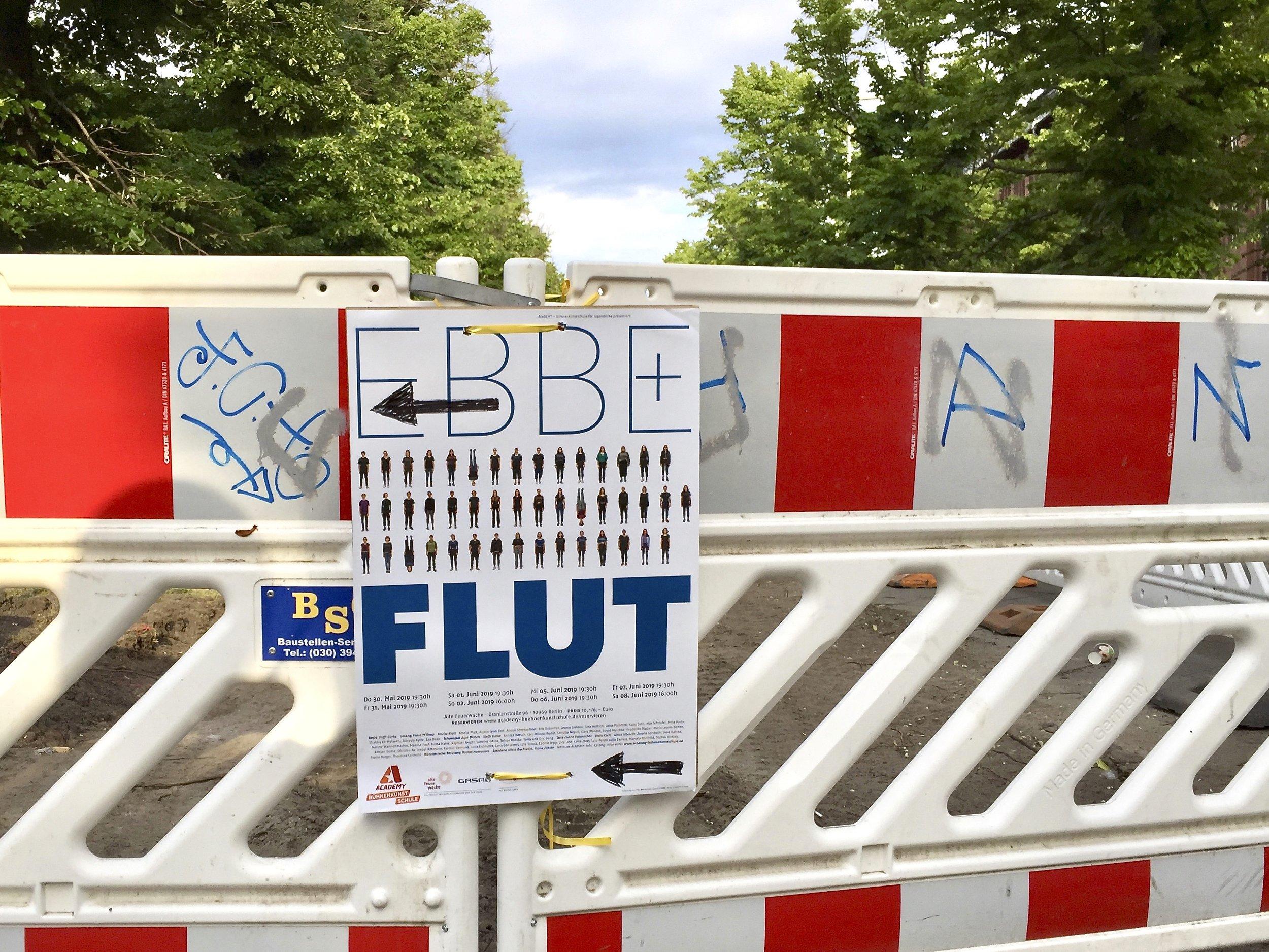 Plakat EBBE + FLUT