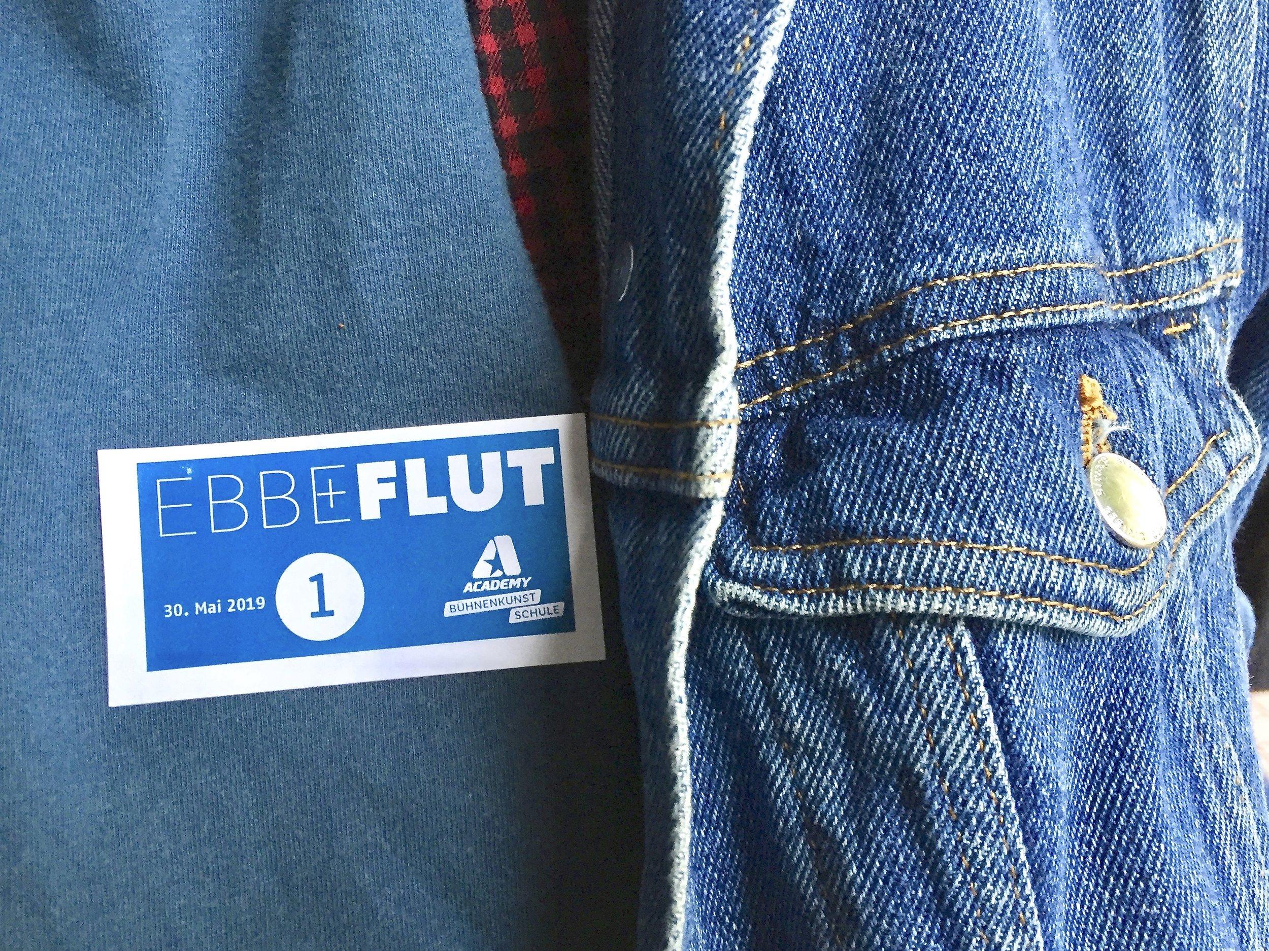 Eintrittskarte EBBE + FLUT