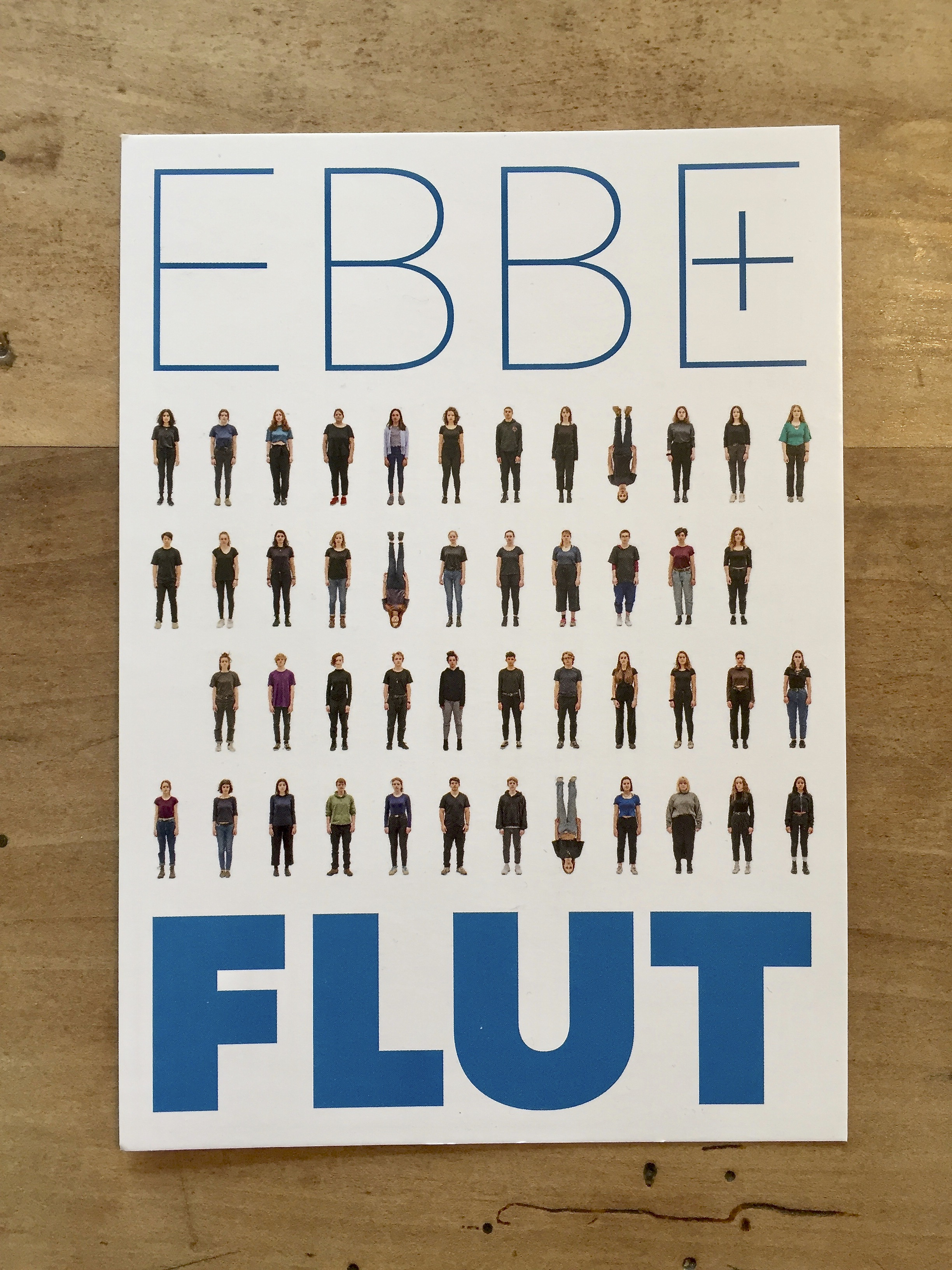 Postkarte EBBE + FLUT