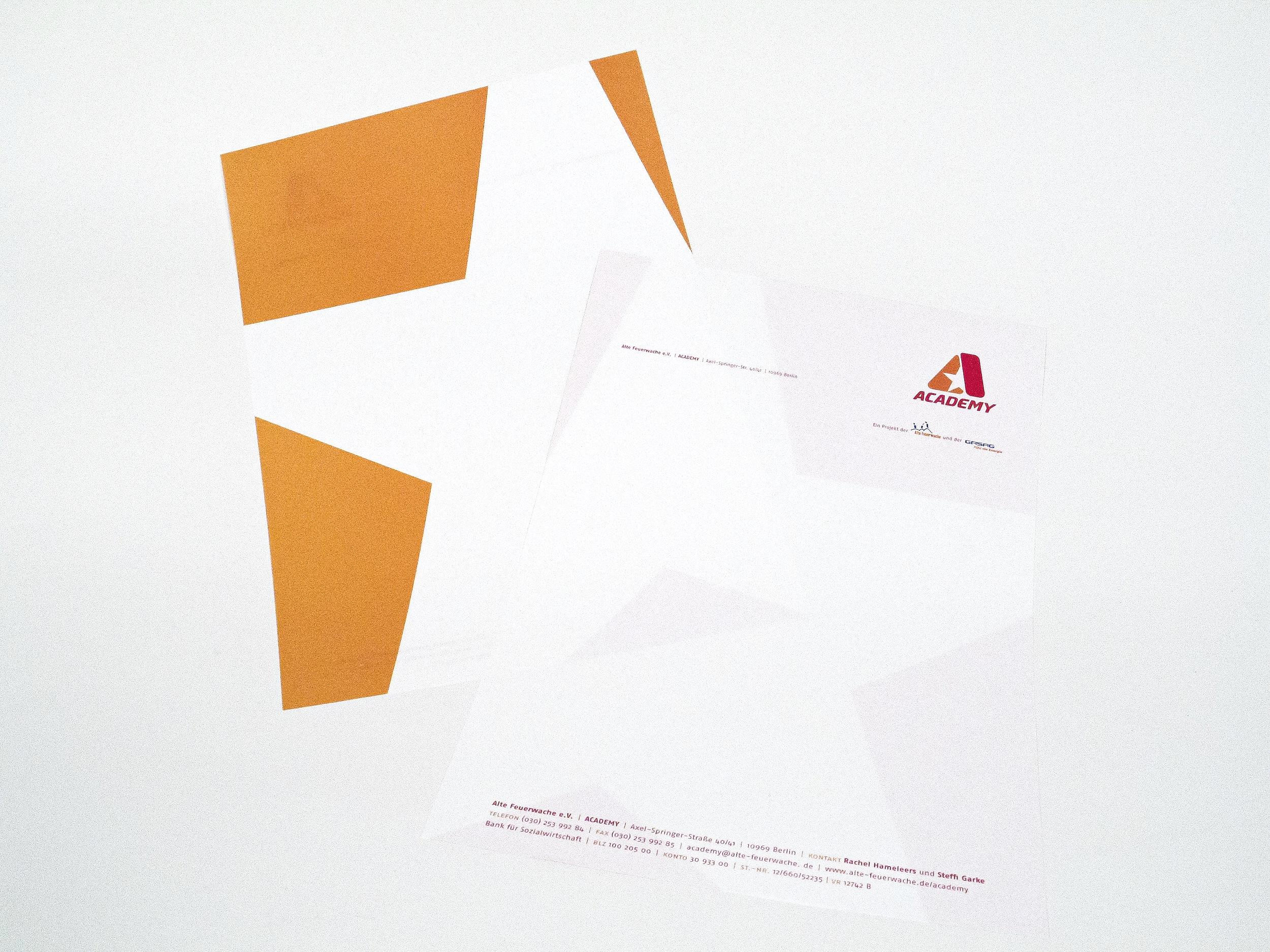 Briefpapier und Geschäftsausstattung ACADEMY