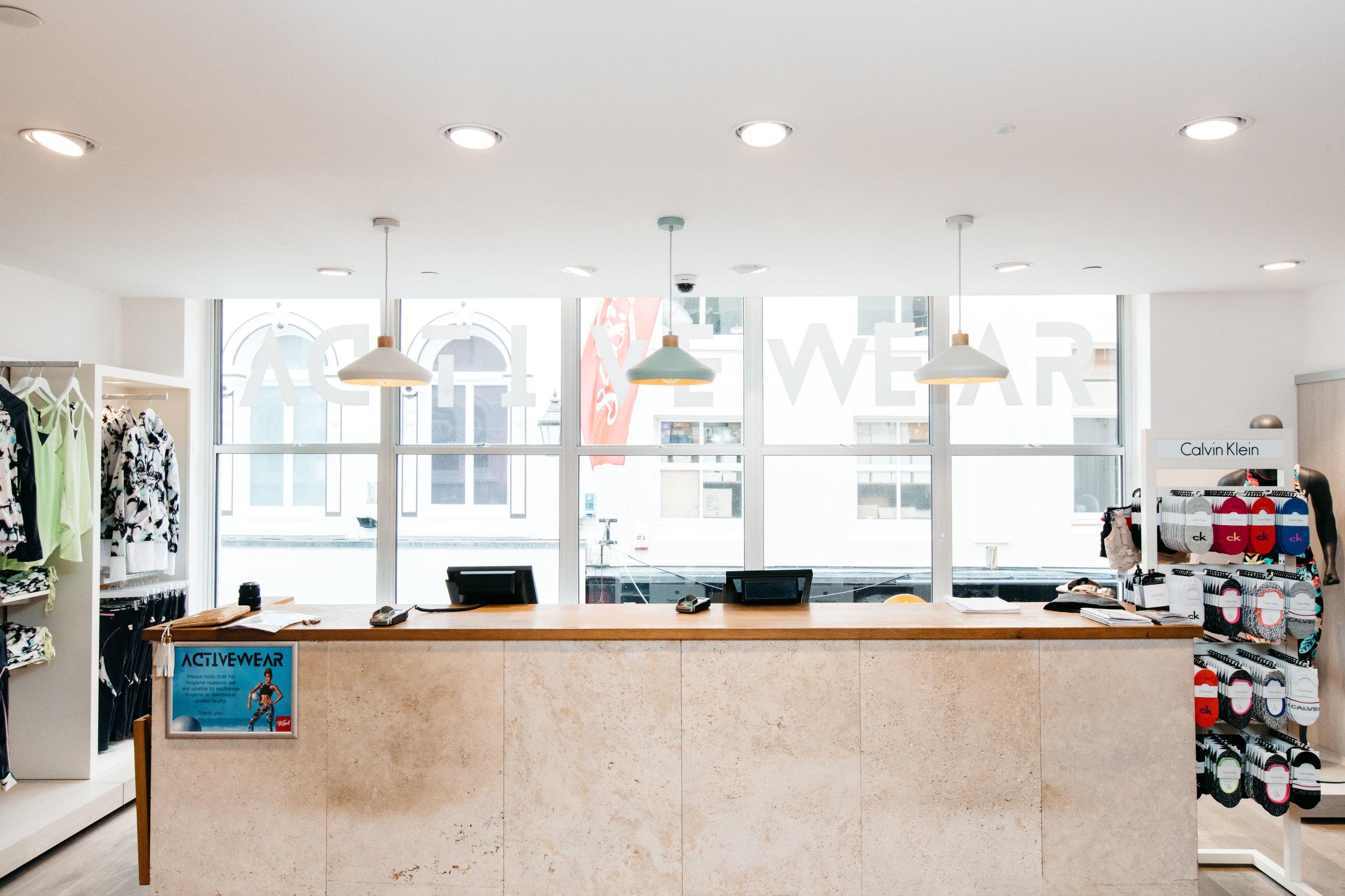 Retail Interior Design Counter