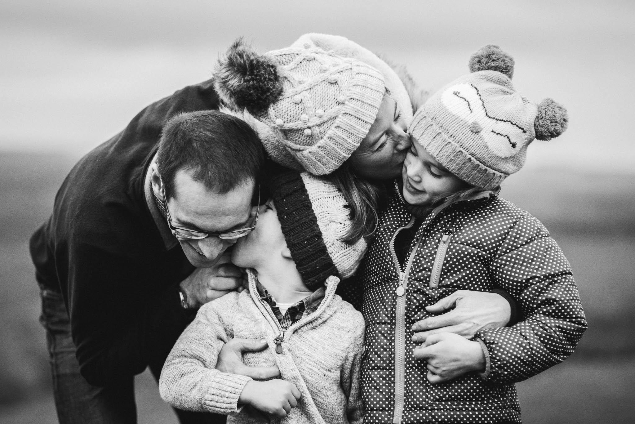 Gorgeous family outdoor shoot