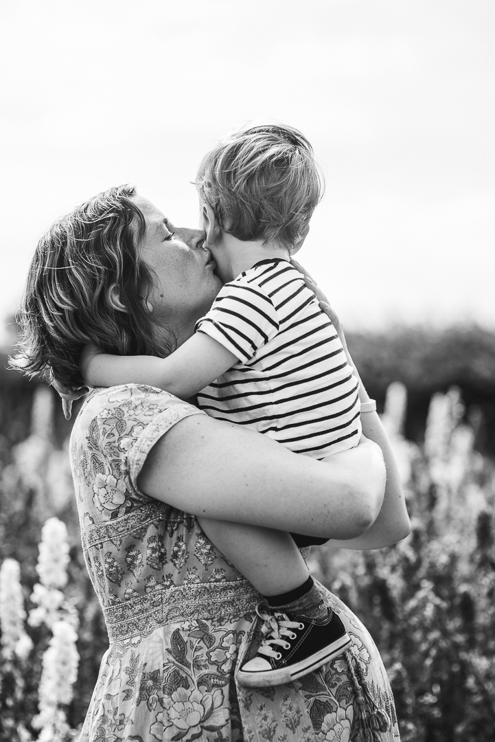 Maternity Photoshoot with toddler boy Cotswolds