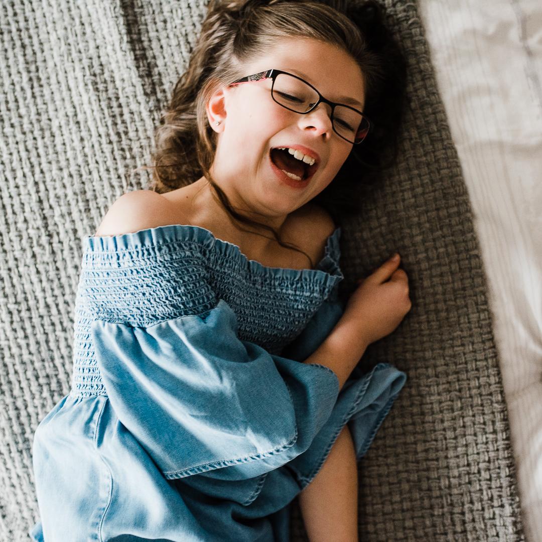 Girl Laughing Glasses Cheltenham photographer -9476.jpg