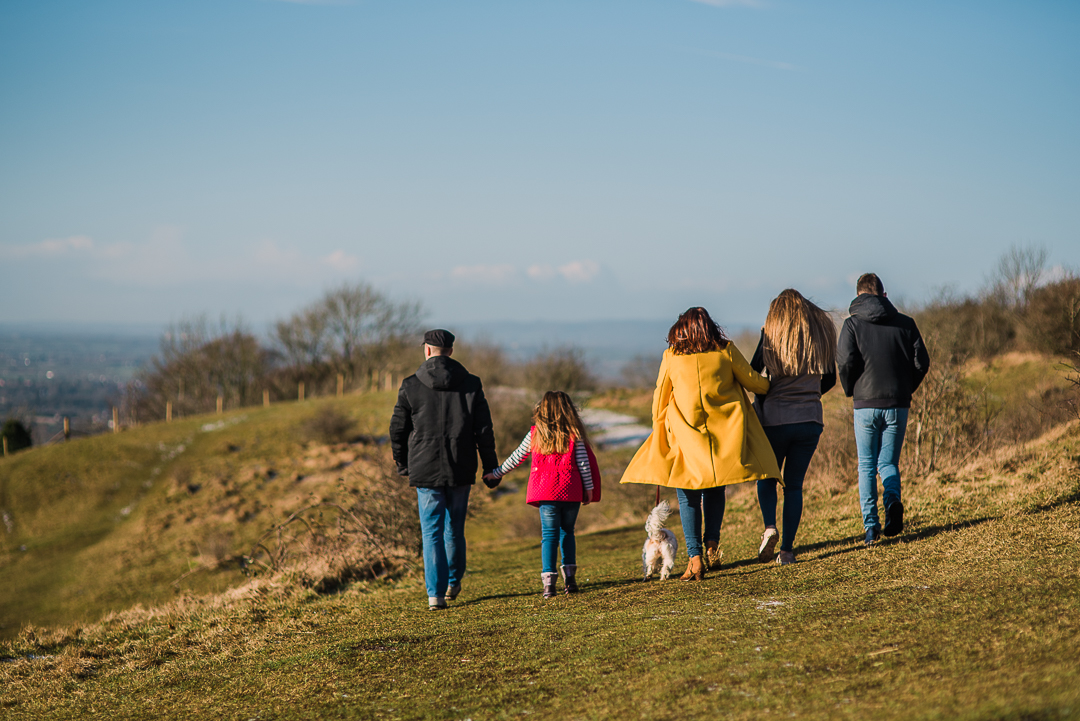Family photoshoot walking dog gloucestershire.jpg