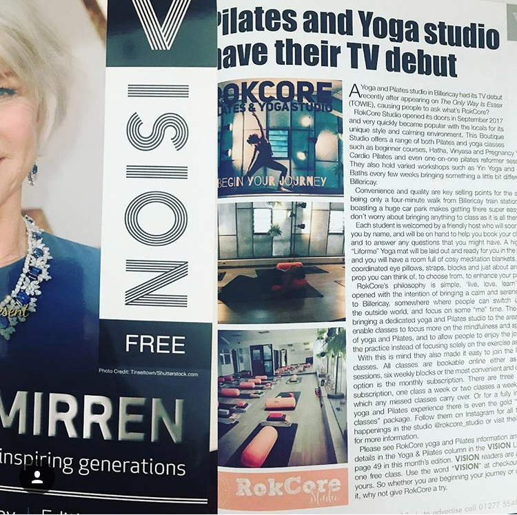 RokCore features in Vision, the local magazine goto full all local news and events.