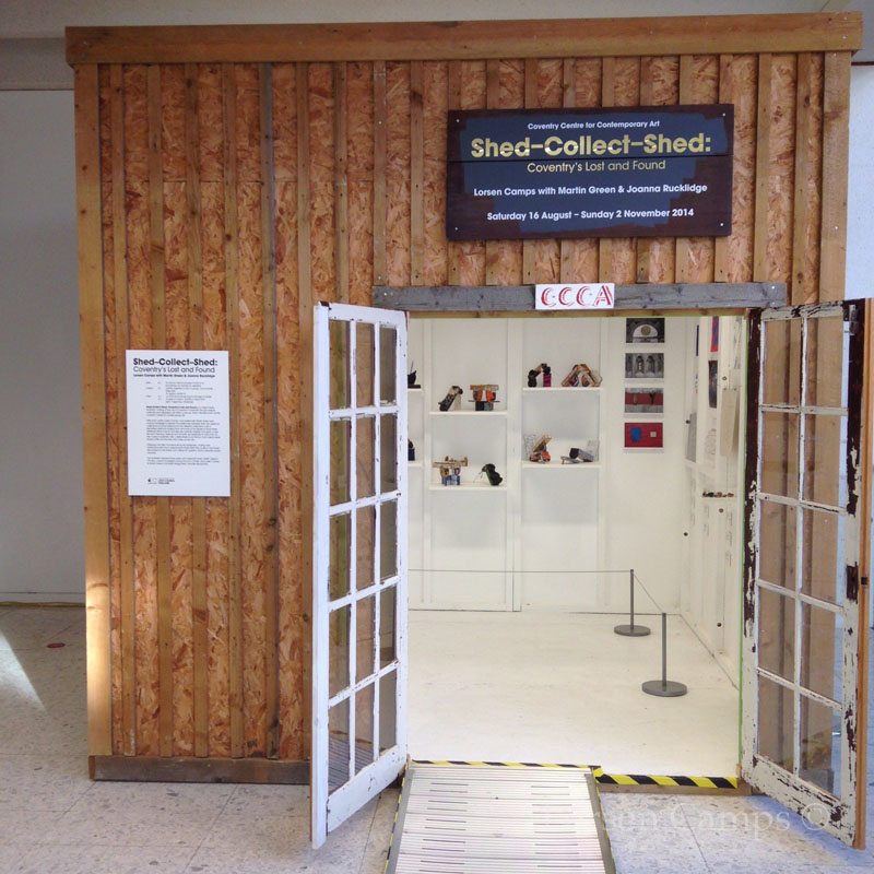 Shed - Collect - Shed Exhibition (2014)