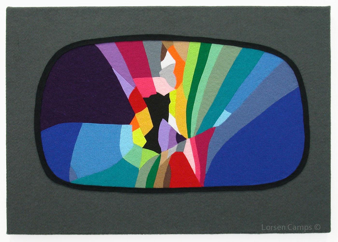 Felt Wing Mirror (2008)