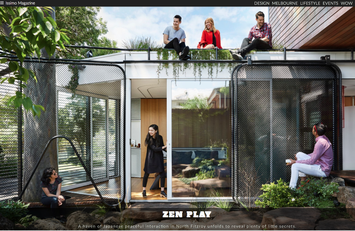 'Kiah House', Issimo Magazine, 2017