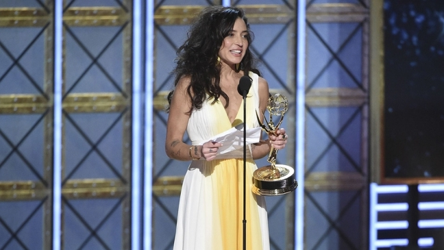 Reed Morano, who won Outstanding Directing for a Drama Series, is the first woman in 22 years to win the Emmy in this category.  YAY, REED!
