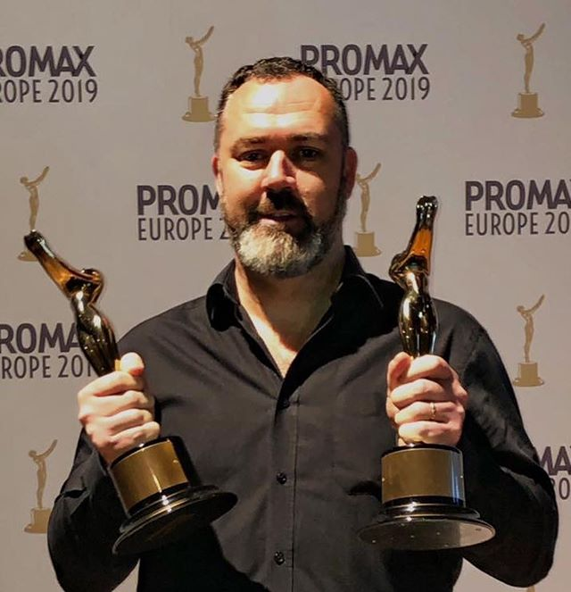 FANTASTIC news from Amsterdam as DCL takes home 2 GOLDS and 2 SILVERS at Promax Europe 2019 🥇🥇🥈🥈 Great to see such diverse projects recognised: a global brand identity project 🐘 , a big-budget commercial partnership 💧 , and two no-budget, ideas-led projects – a promo 🍼 and a Facebook Live 🐌 . A fantastic credit to the strategic, creative, design, digital and production skills across the team and congratulations to all the other winners! 🏆🏆🏆