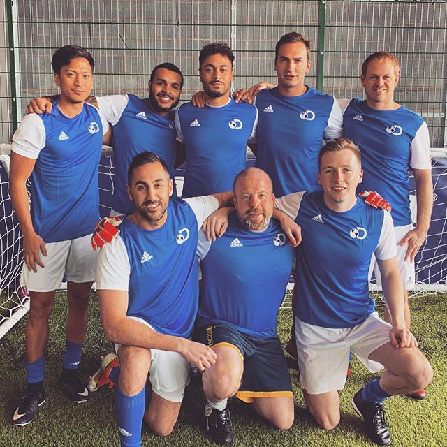 Discovery FC - Media Industry World Cup Quarter Finalists 2019 🏆 Forget Liverpool, forget Tottenham. This year's team, representing DCL and Discovery Networks, put in a monumental shift, breaking through the toughest group featuring the likes of Sky Sports News and BT Sport (who went on to win the World Cup), these men put their heart and soul into the competition, going in to the final 8 teams out of 24. ⚽️ A great event for a great cause. Cheers to the fans who came to support. Next year we bounce back stronger than ever 💪🏽