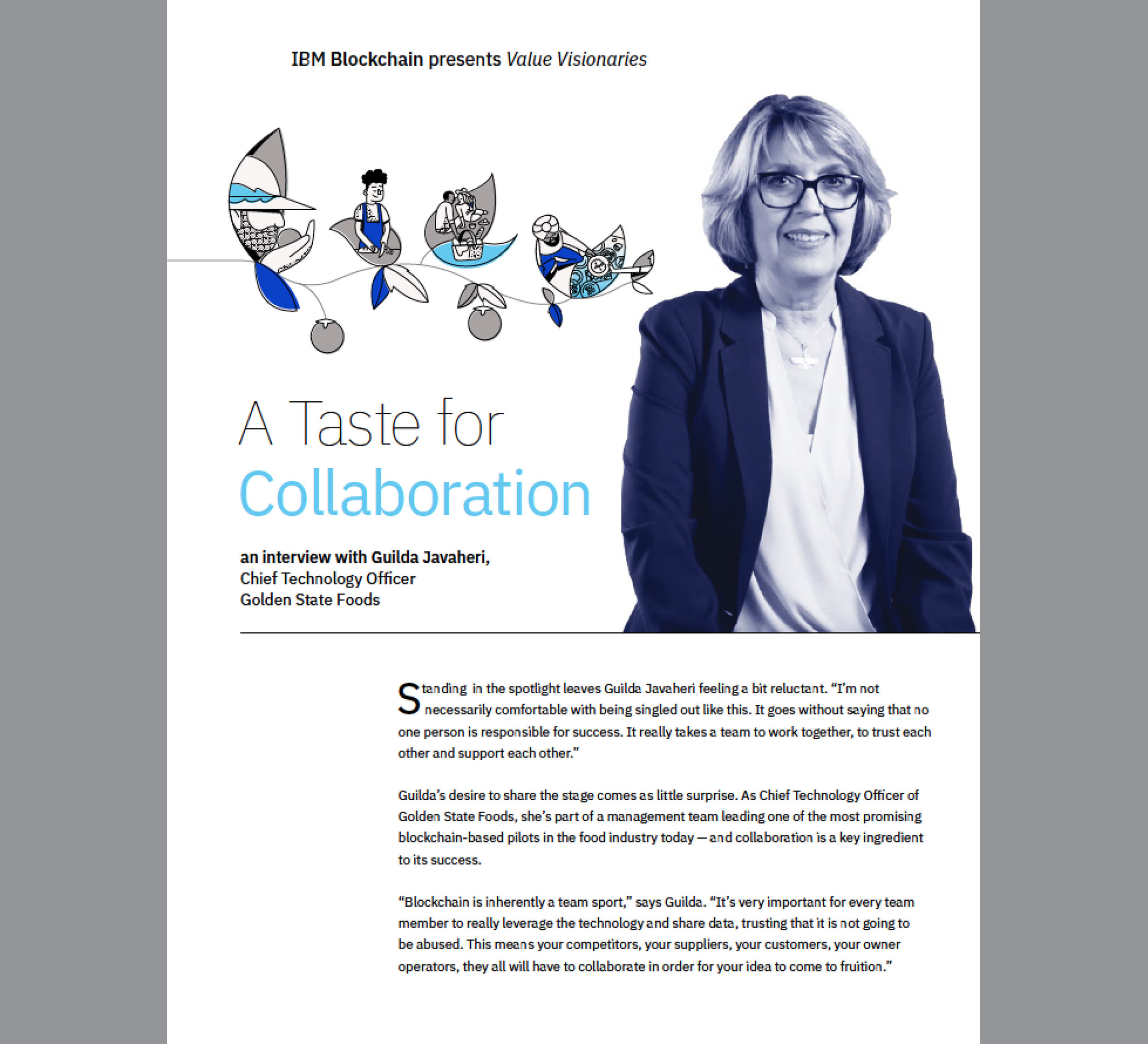 read  Value Visionaries  article: A Taste for Collaboration