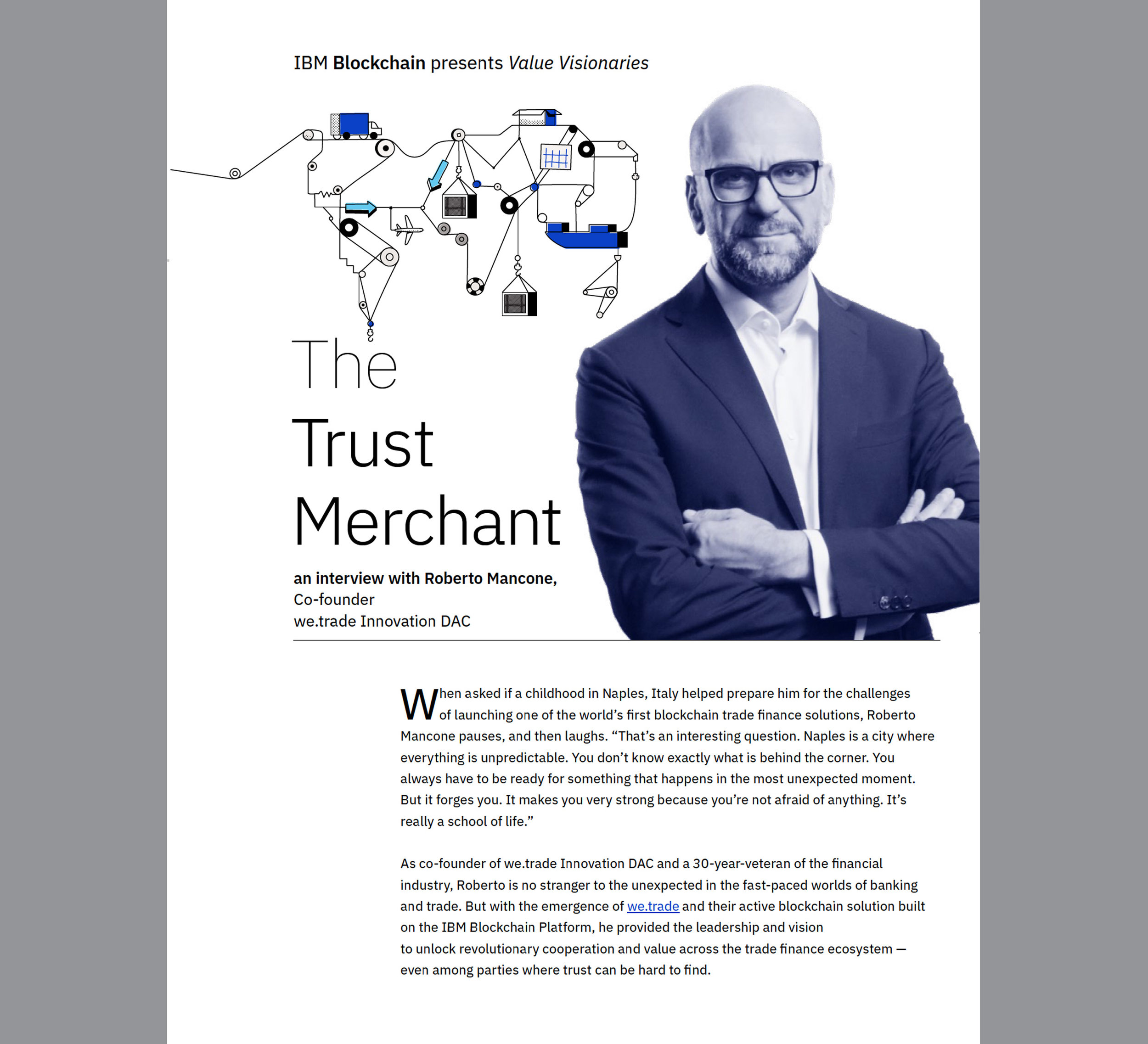 read  Value Visionaries  article: The Trust Merchant
