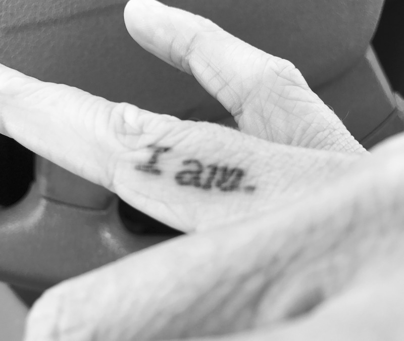 Joanna Boyles' tattoo reminds her of who she is and the things that have helped her get to this point.