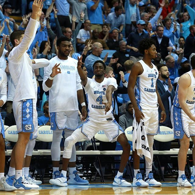 @alexkormann12's excellent photos from the @unc_basketball's win over Gonzaga