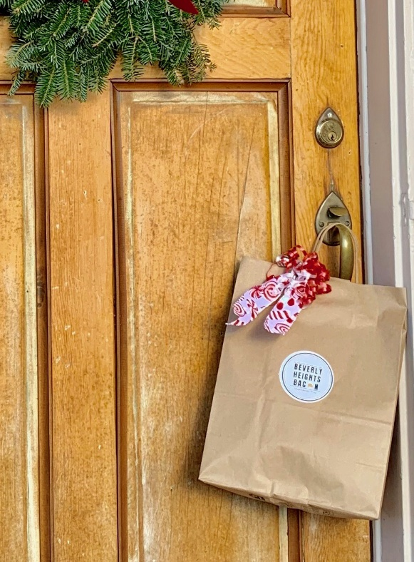 Get your bacon! - When you receive your confirmation, you'll know there is bacon at your door. Go get it! If you've gifted someone bacon, you'll both be sent an email informing you of its arrival.