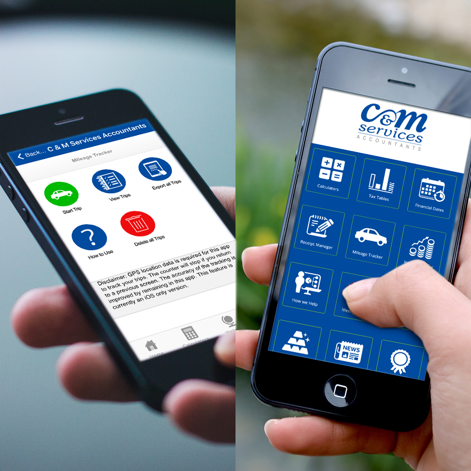 App from C&M Services accountants