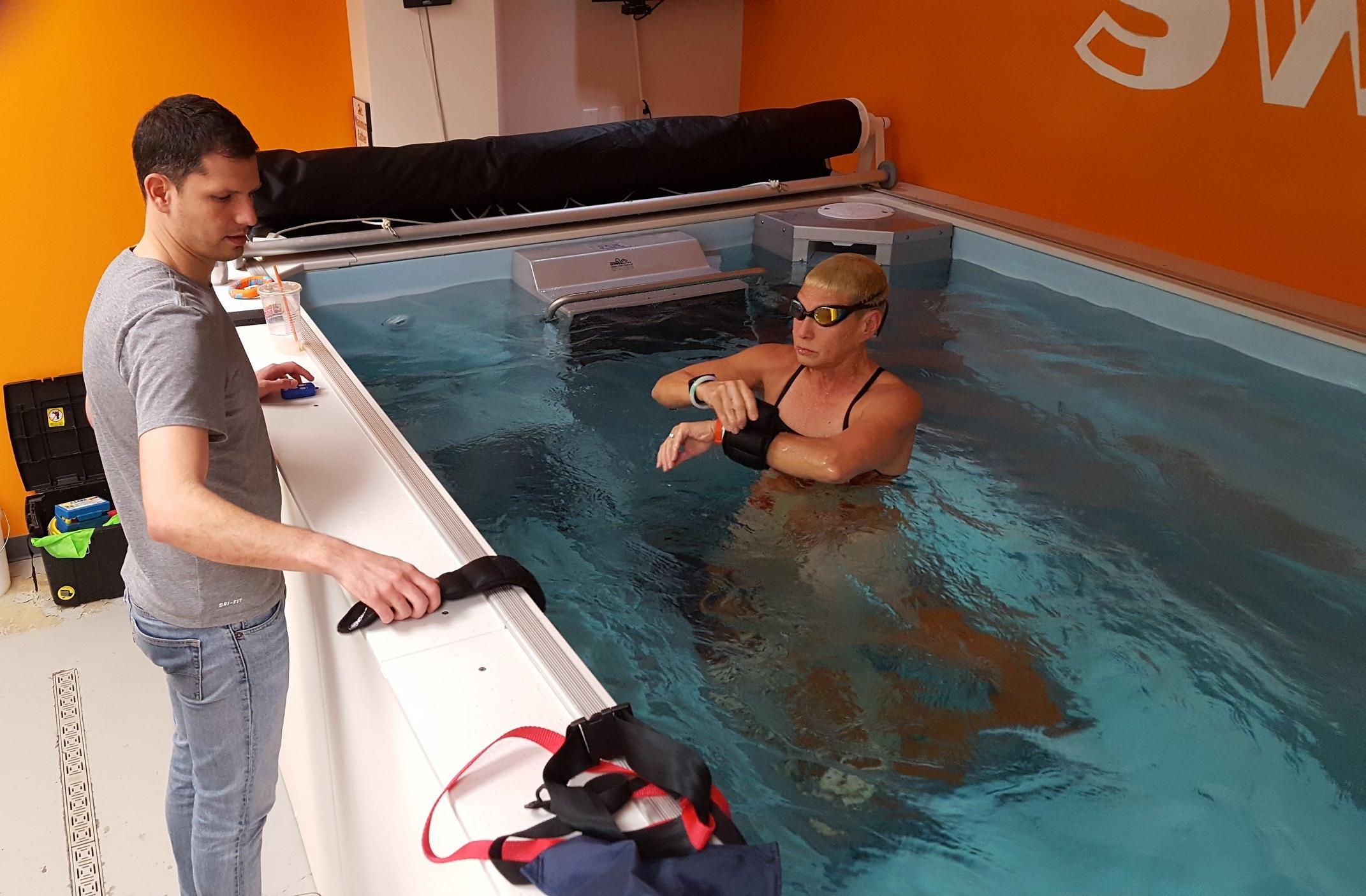 Dominic Latella; private swim lessons