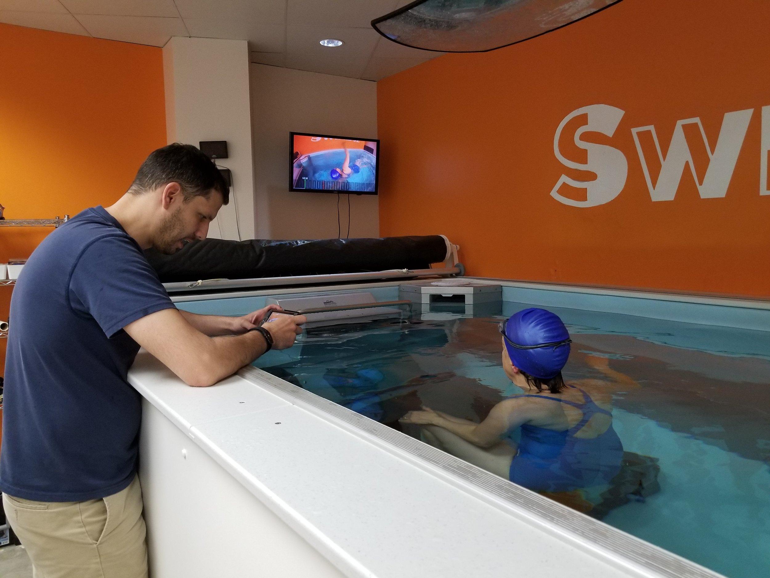 Dominic Latella; swim lessons at SwimBox
