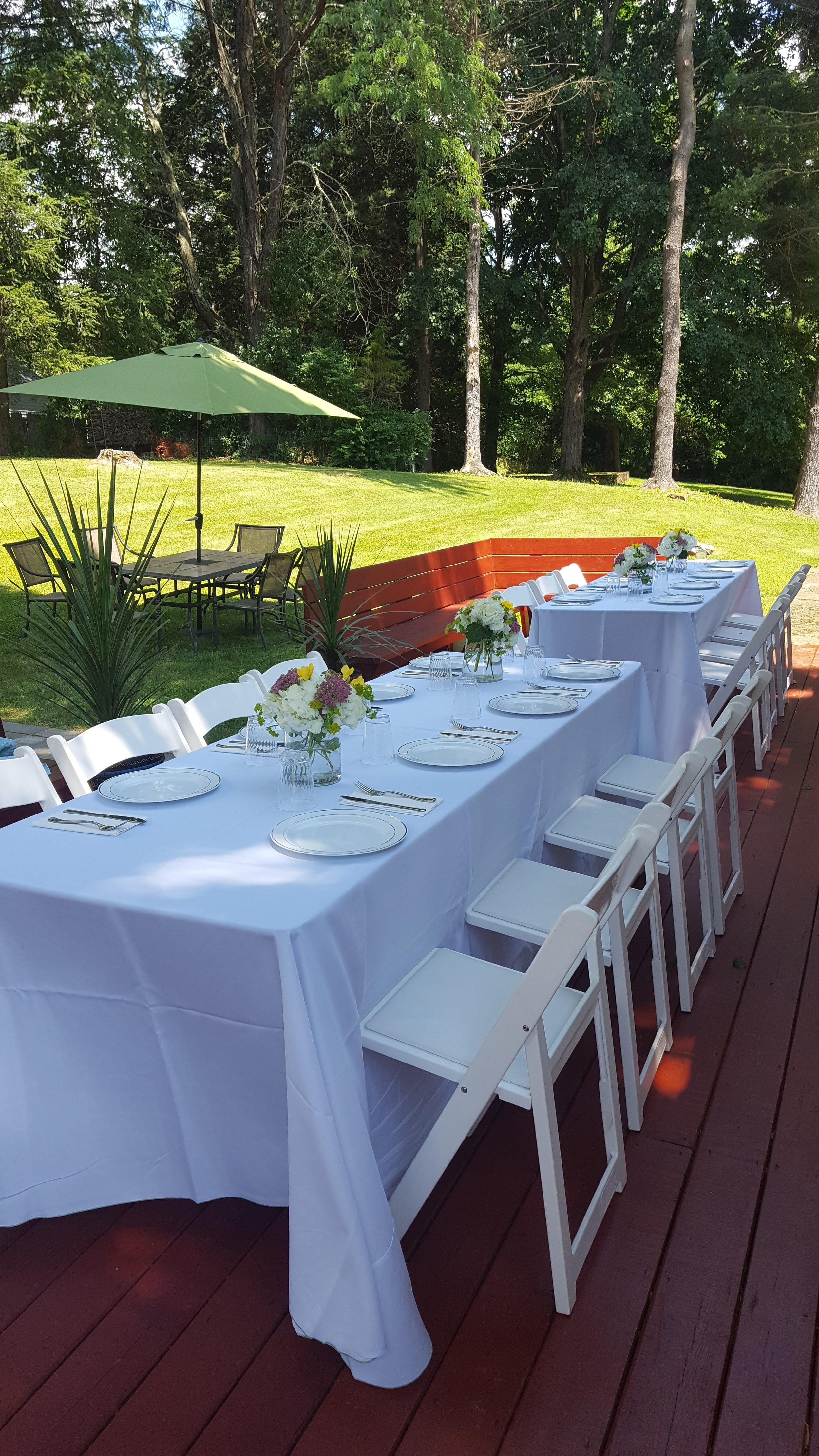 Grad Party Table Setting 1