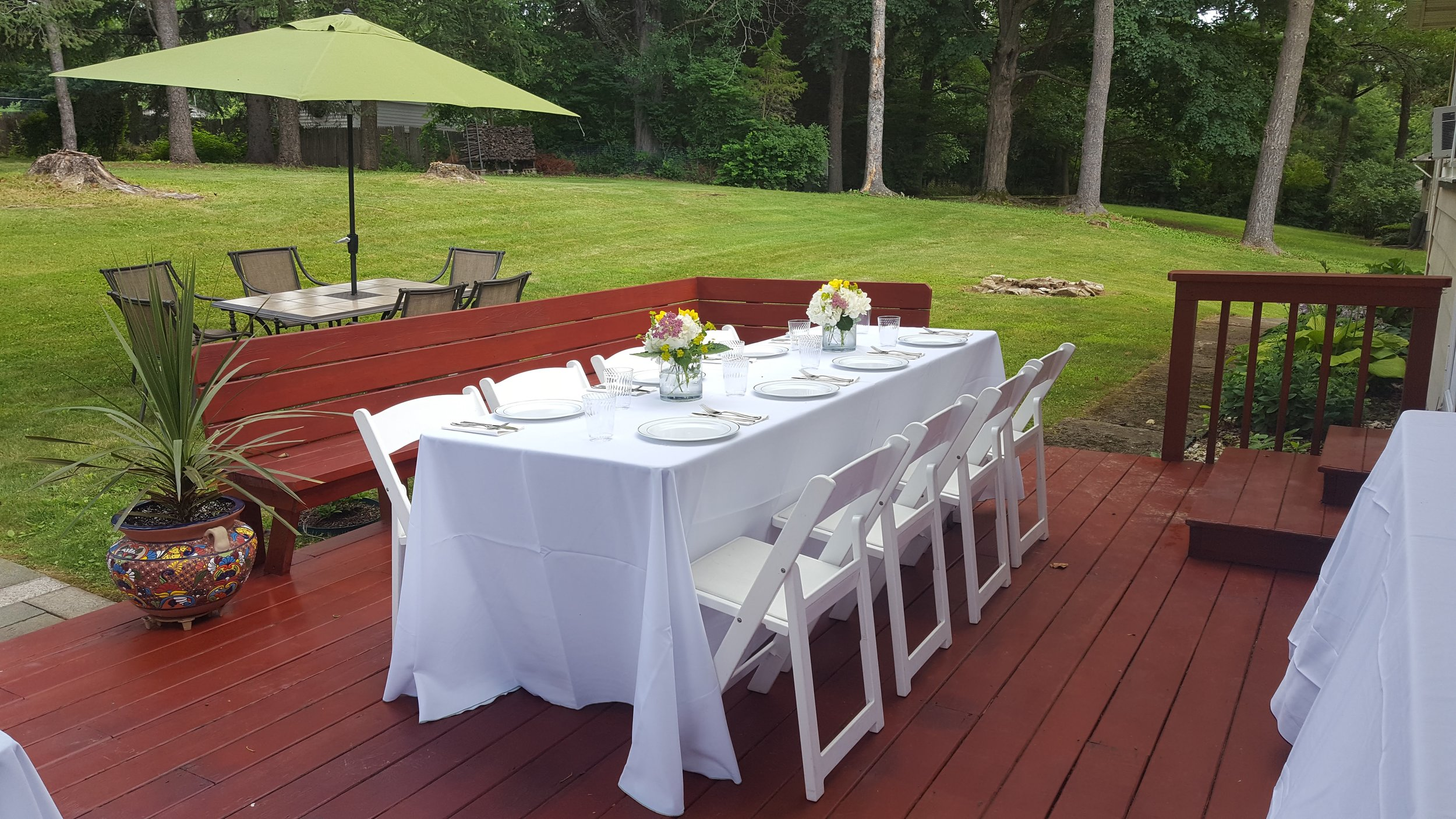 Grad Party Table Setting 2