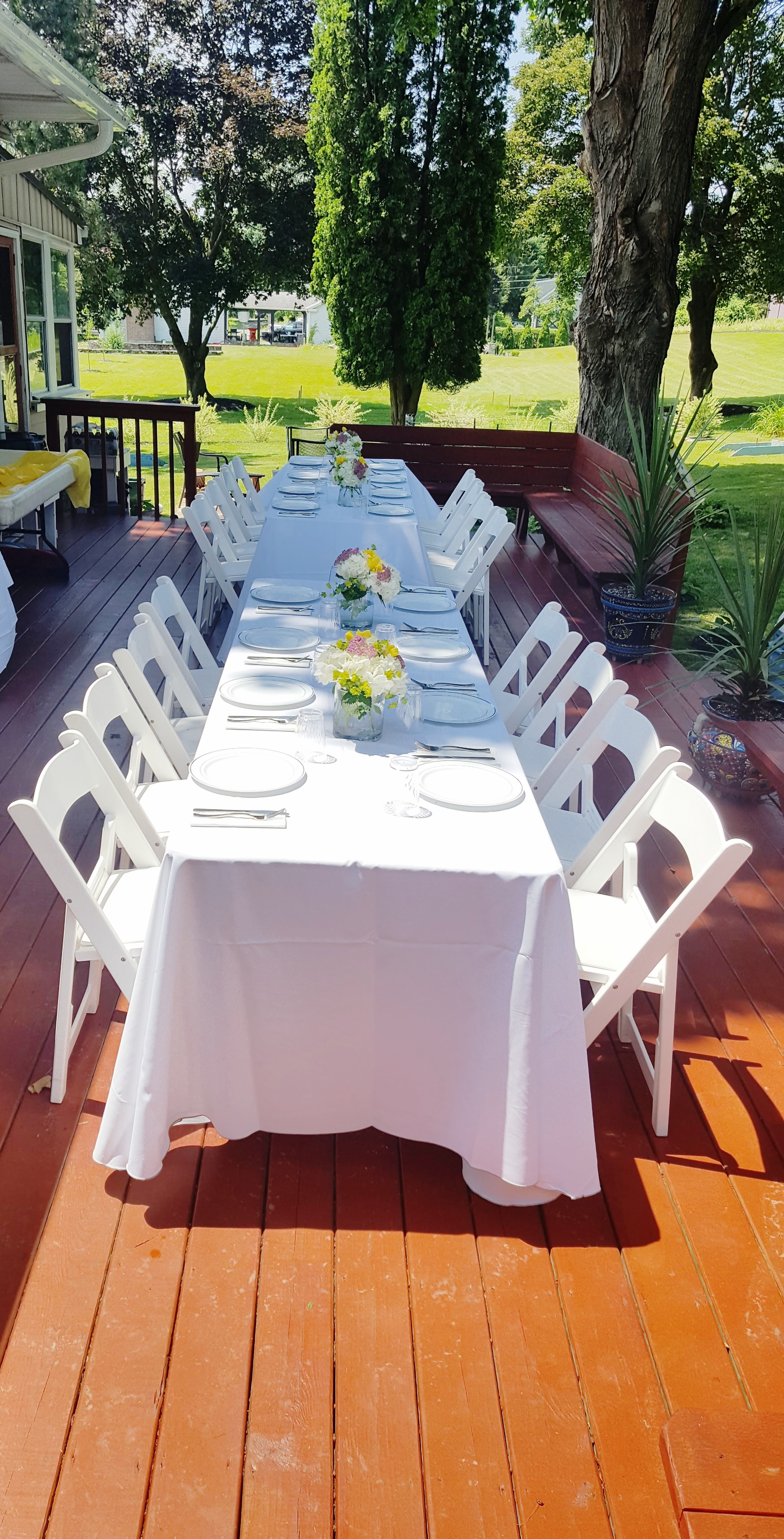 Grad Party Table Setting 3