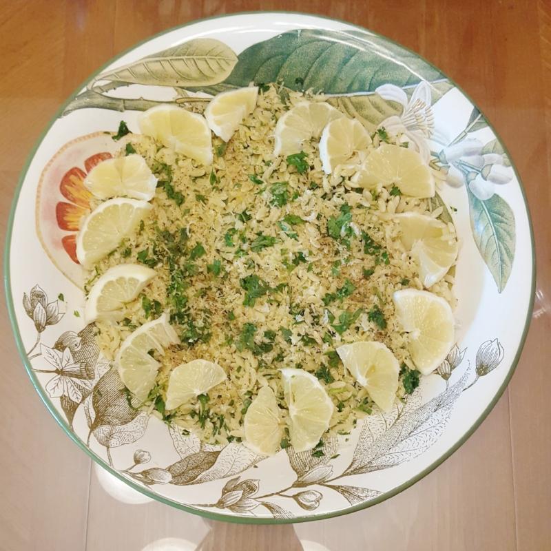 Zesty Lemon Orzo