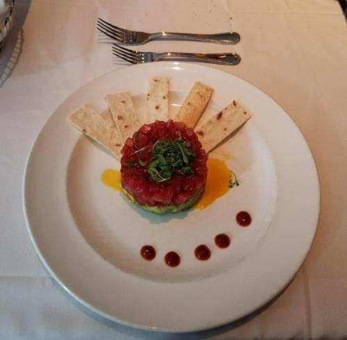 Tuna Tartare at The Capital Grille.