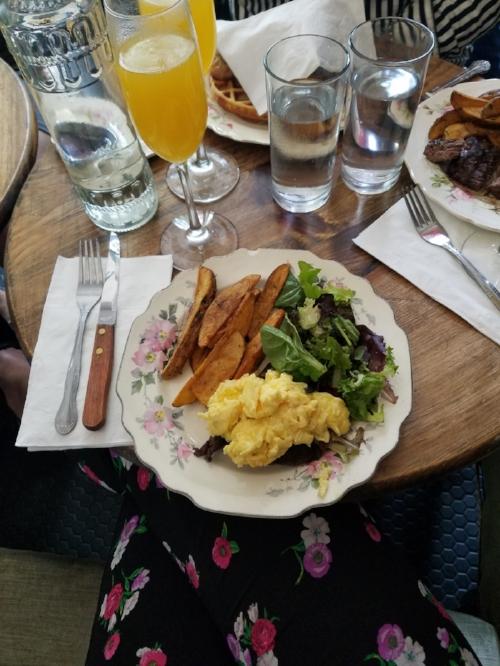 Steak + Eggs @ Peque