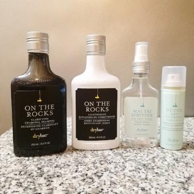 Drybar On the Rocks Shampoo and Conditioner Mai Tai Spritzer Sea Salt Spray Dry Shampoo Original Scent