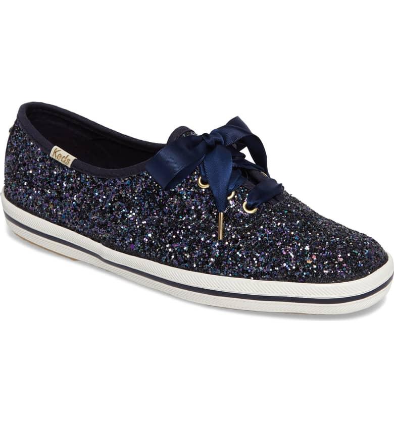 Glitter Sneaker by Kate Spade x Ked Navy