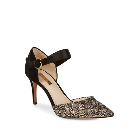 Kouris Metallic Jacquard Pump by Louise et Cie