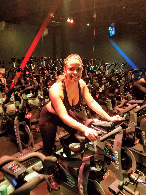 Bianca Reyes @ SWERVE Fitness (Flatiron Studio)