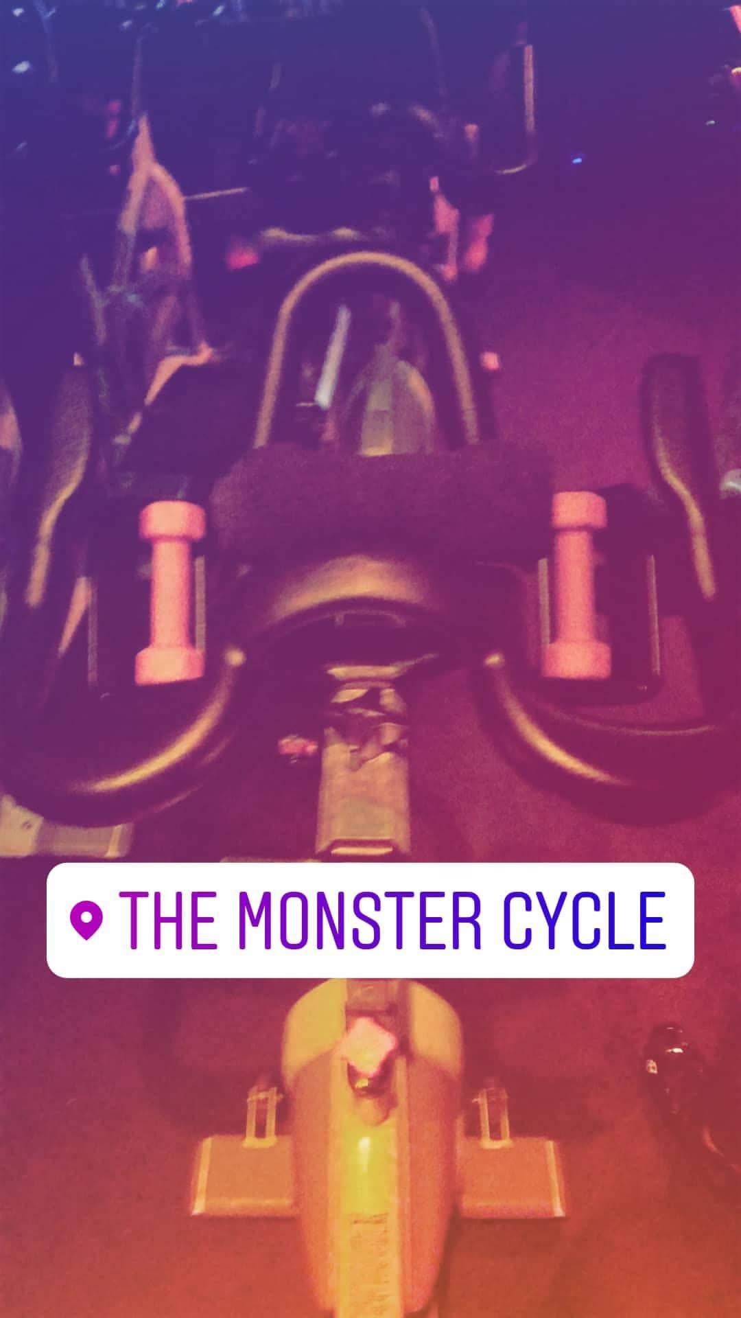 Monster Cycle on @OhSoFashionablyLate Instagram Story