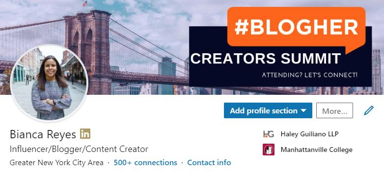 Bianca Reyes LinkedIn Profile.PNG