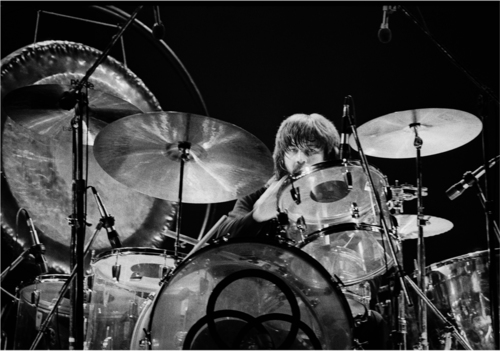 JOHN BONHAM  - 16in x 20in Silver Gelatin high fiber print. Limited edition of 75, numbered and signed. Only 1 available, 18/75.  $450