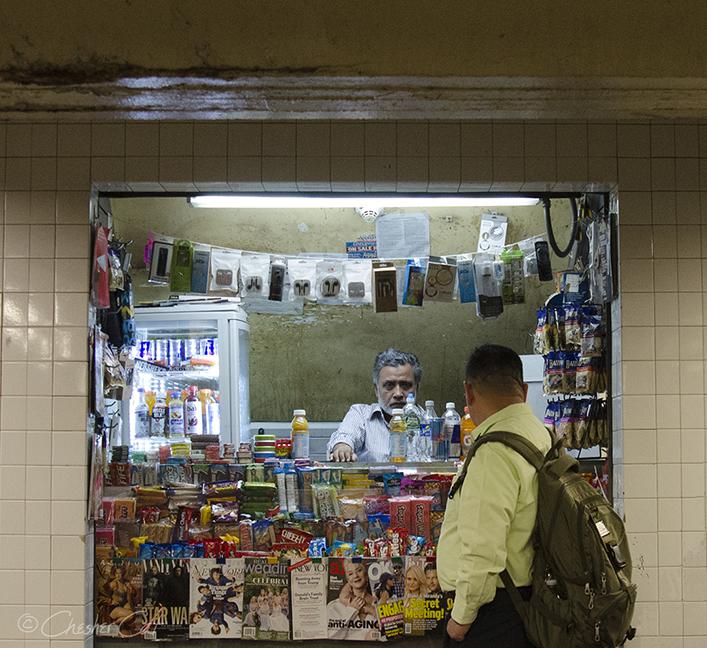 Newsstand Vendor, 2017