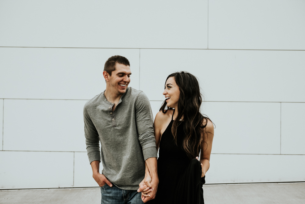 Couples Engagement Photographer, City Engagement Session in Oklahoma City