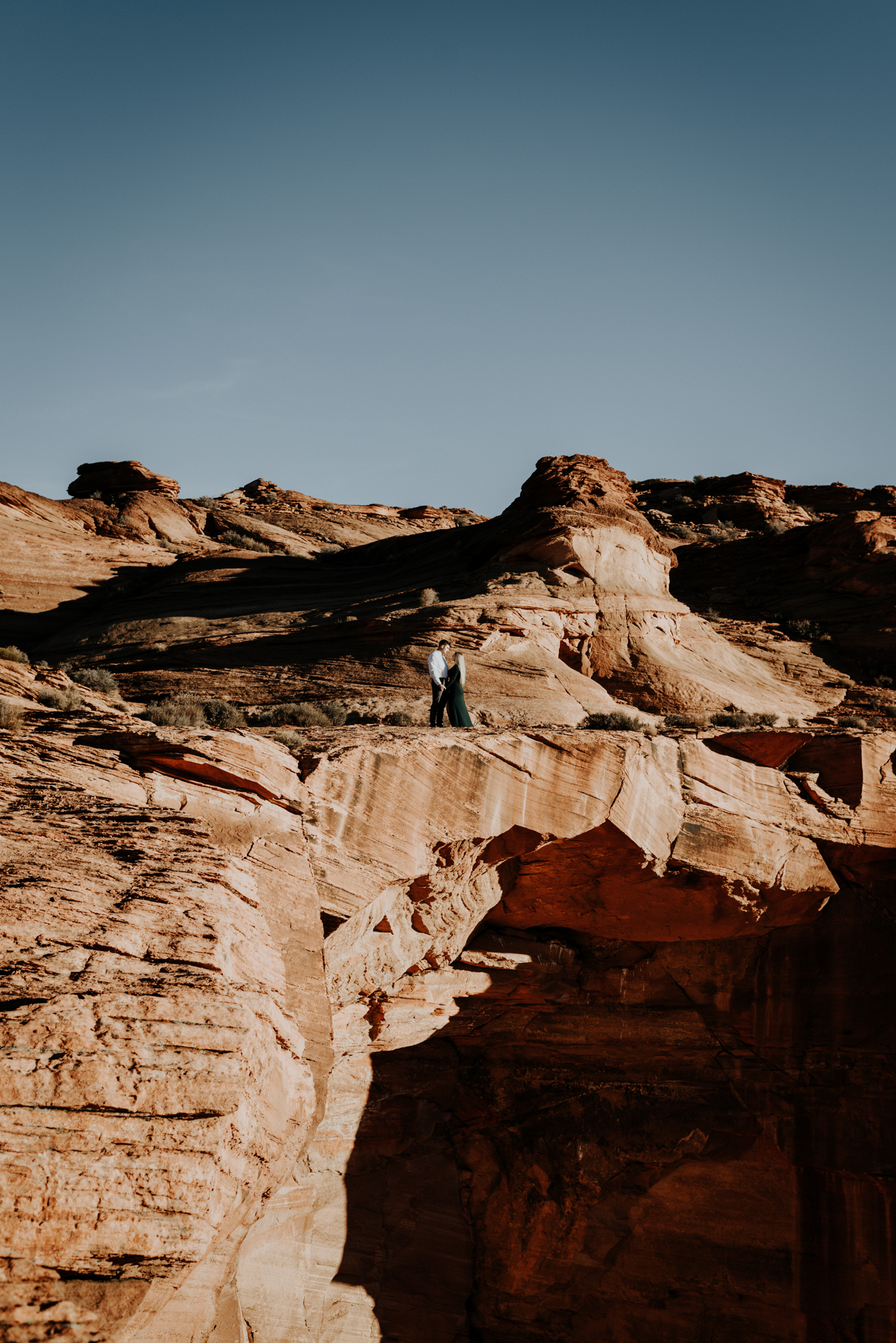 Anniversary Adventure Session, Elopement Photographer at Horseshoe Bend in Page, Arizona