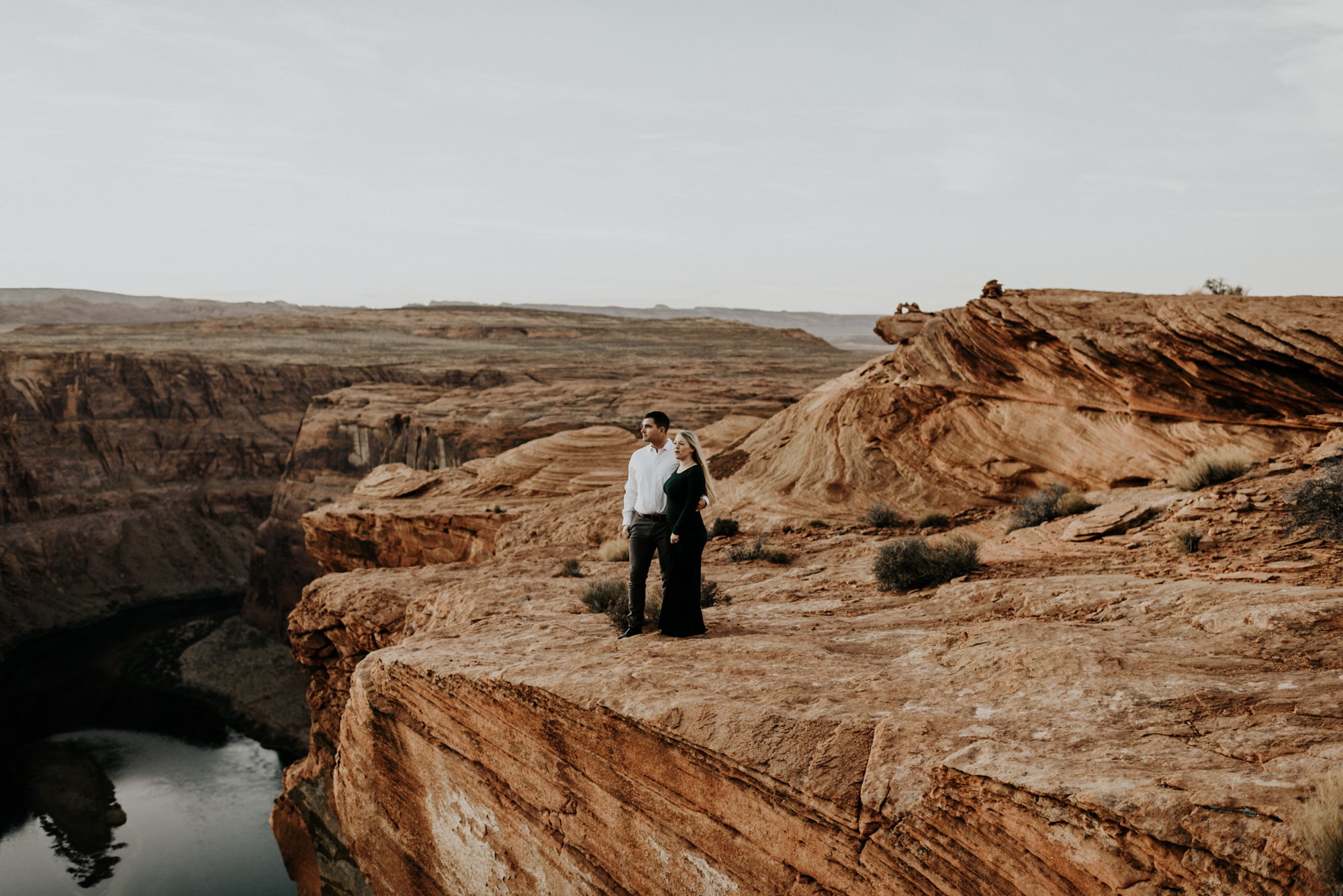Anniversary Adventure Session, Elopement Photographer at Horseshoe Bend in Page, ArizonaAnniversary Adventure Session, Elopement Photographer at Horseshoe Bend in Page, Arizona