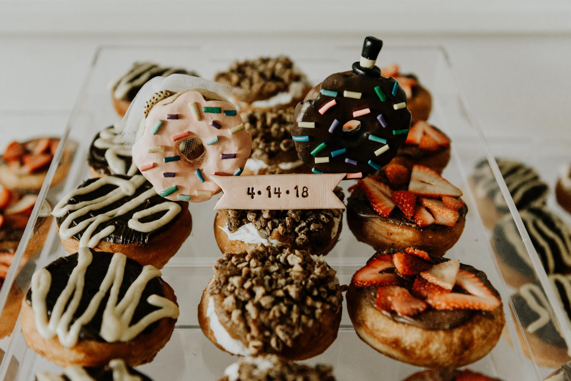 Intimate Wedding Cutest Dessert Table Photos Austin, Texas